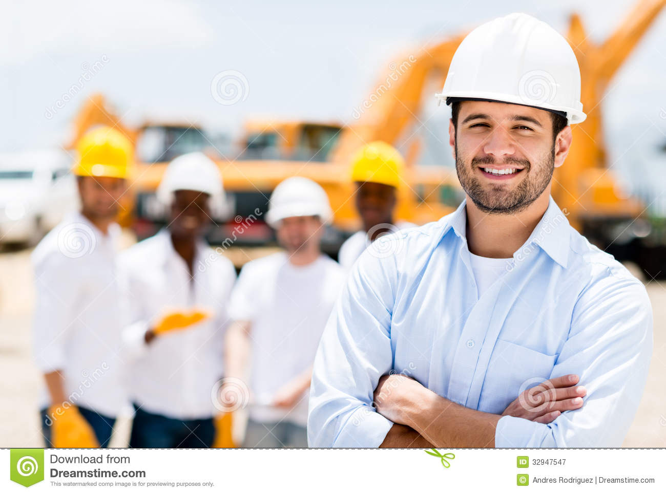 Successful Male Architect Royalty Free Stock Photography - Image ...
