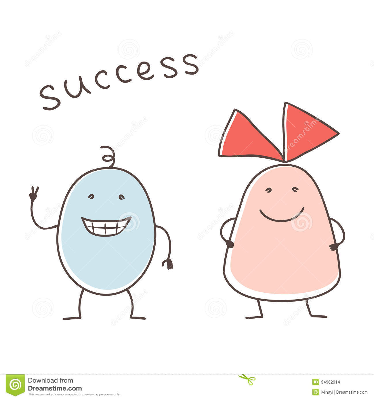 Successful Pair Stock Images - Image: 34962914
