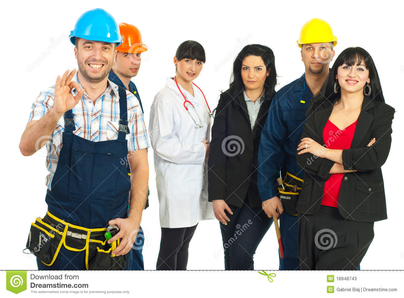 successful careers people stock photos images pictures  successful people different careers stock photos