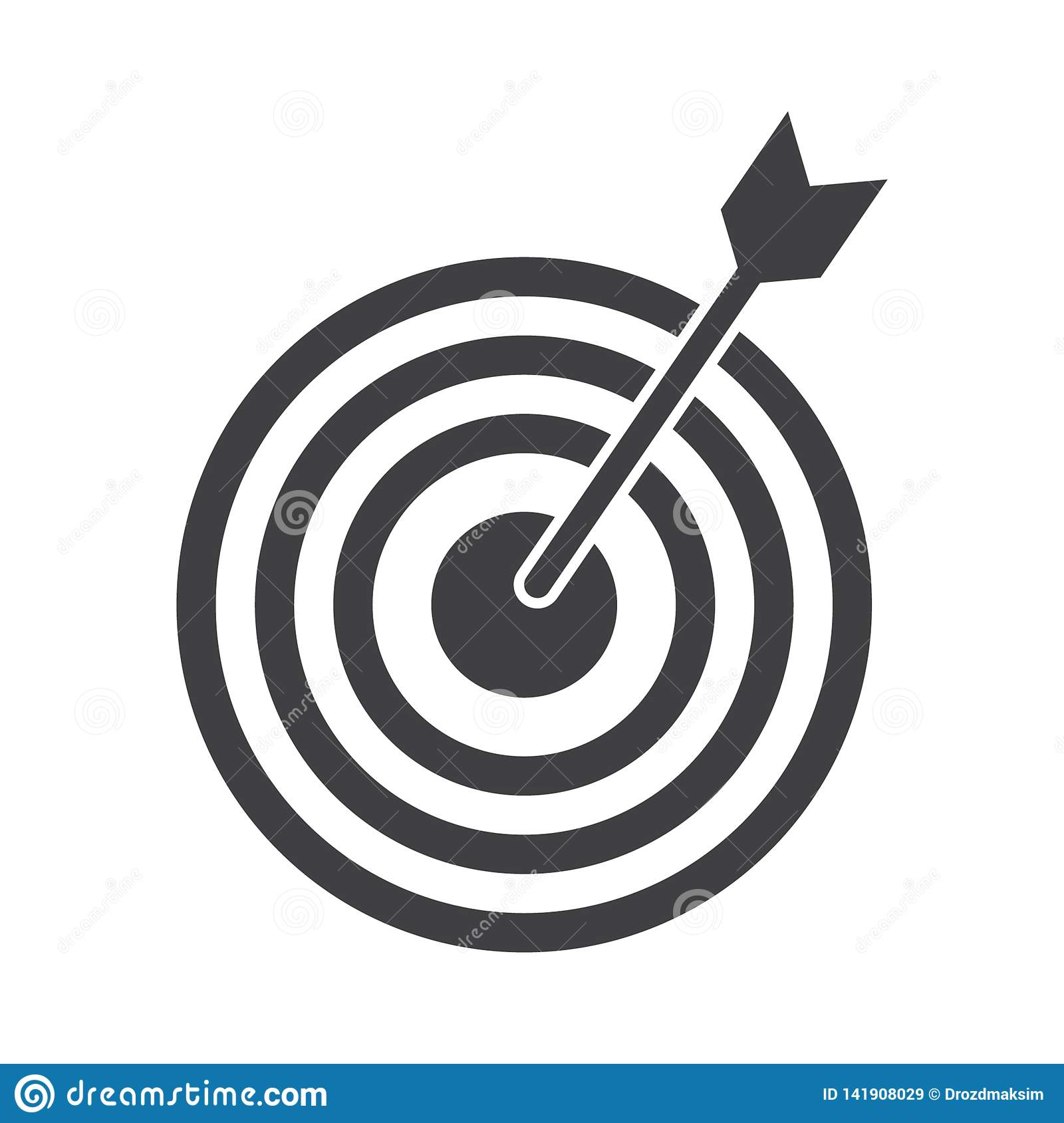 successful shoot darts target aim icon on white background vector illustration stock vector illustration of successful concept 141908029 https www dreamstime com successful shoot darts target aim icon white background vector illustration successful shoot darts target aim icon white image141908029