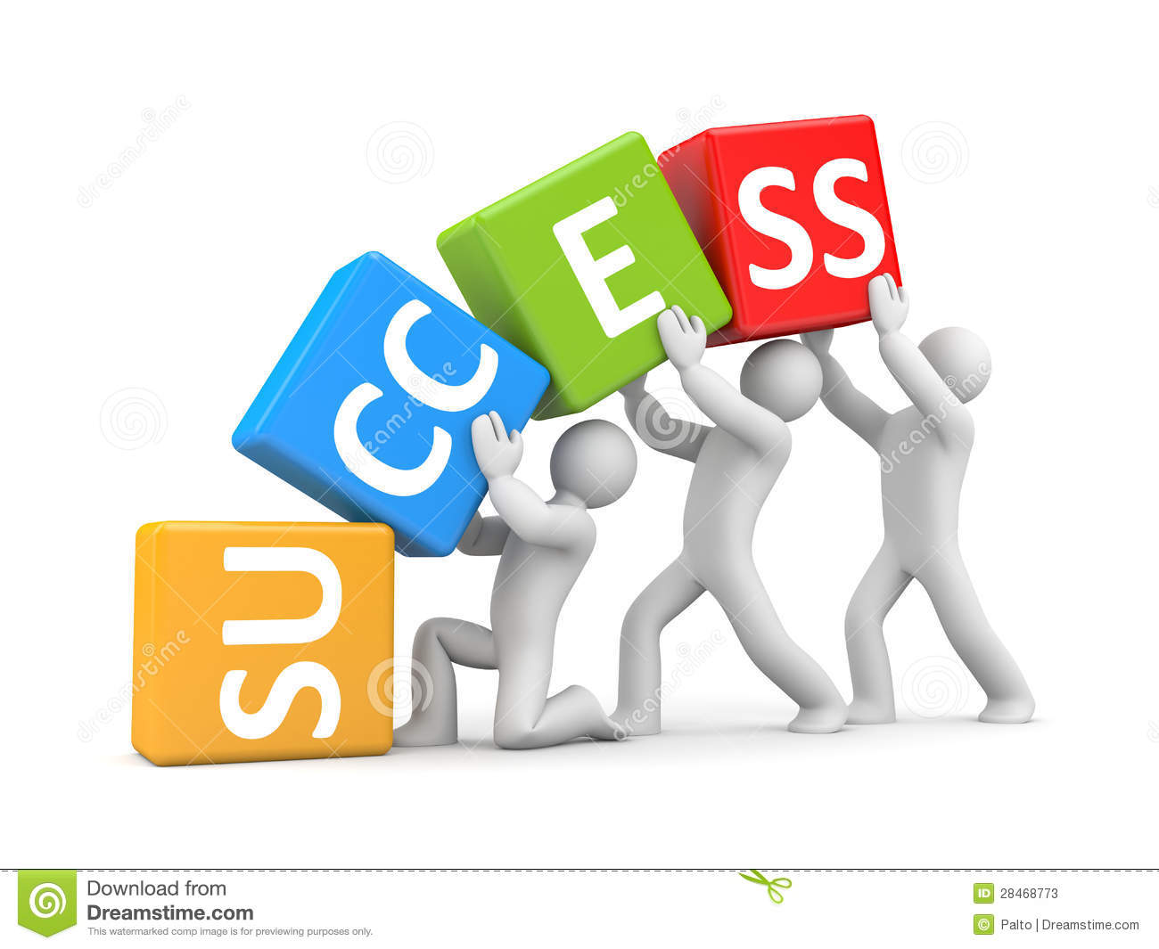 Team Success Clip Art