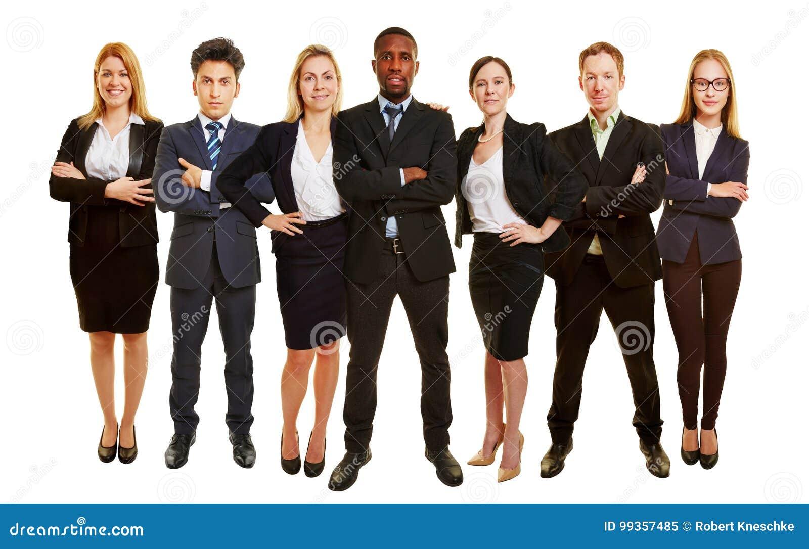 Succesvol commercieel team als groep