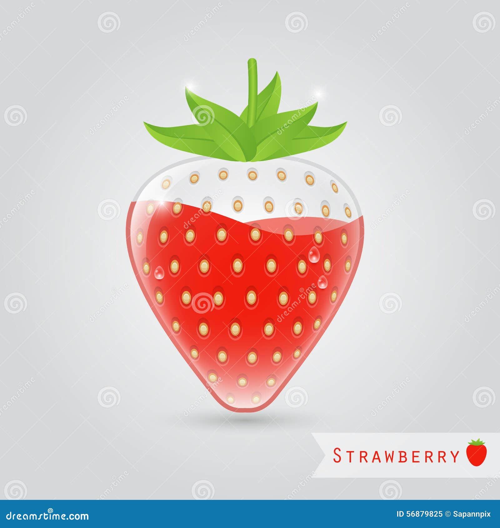 Succo di frutta della fragola