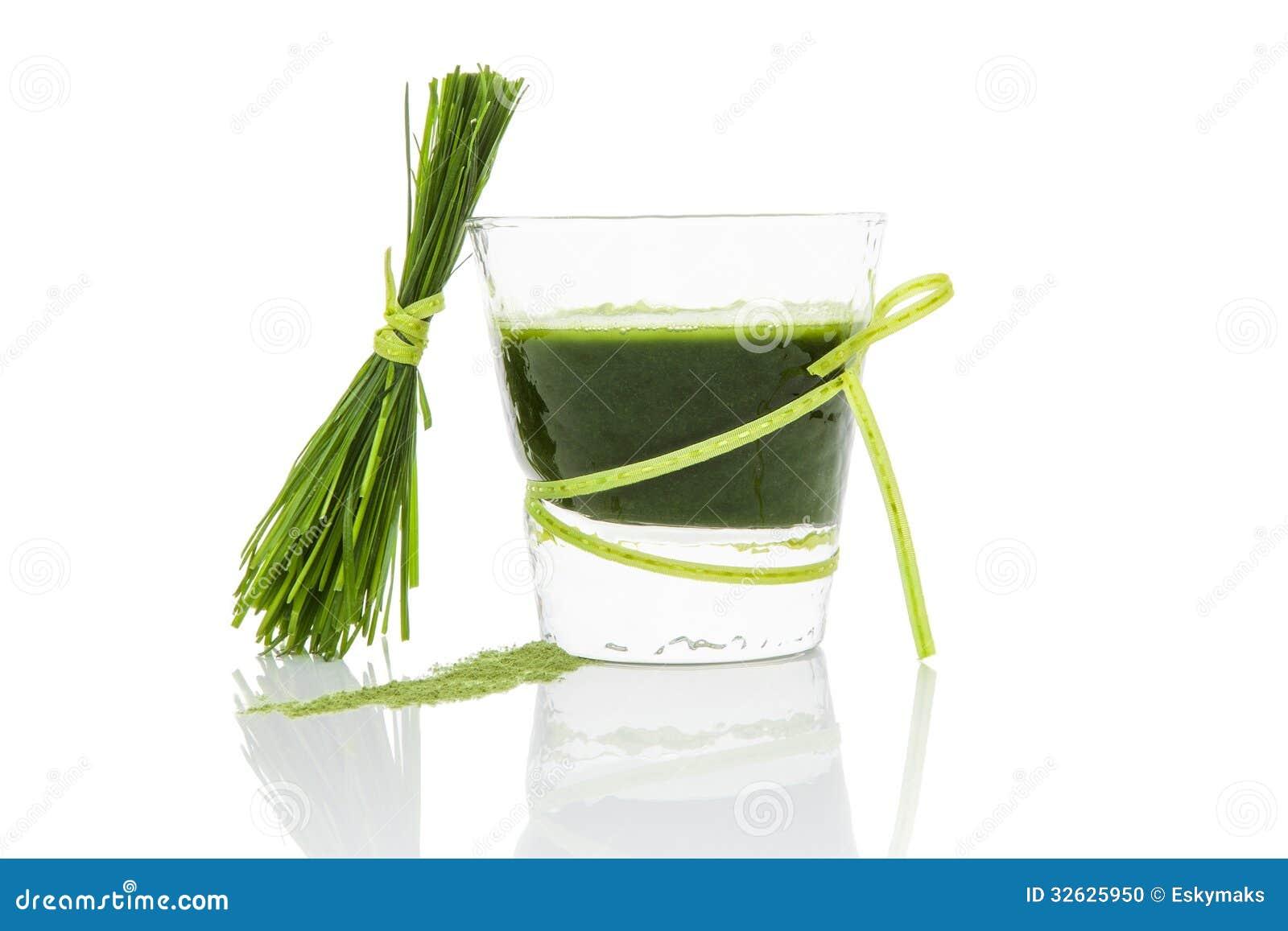 Succo verde.