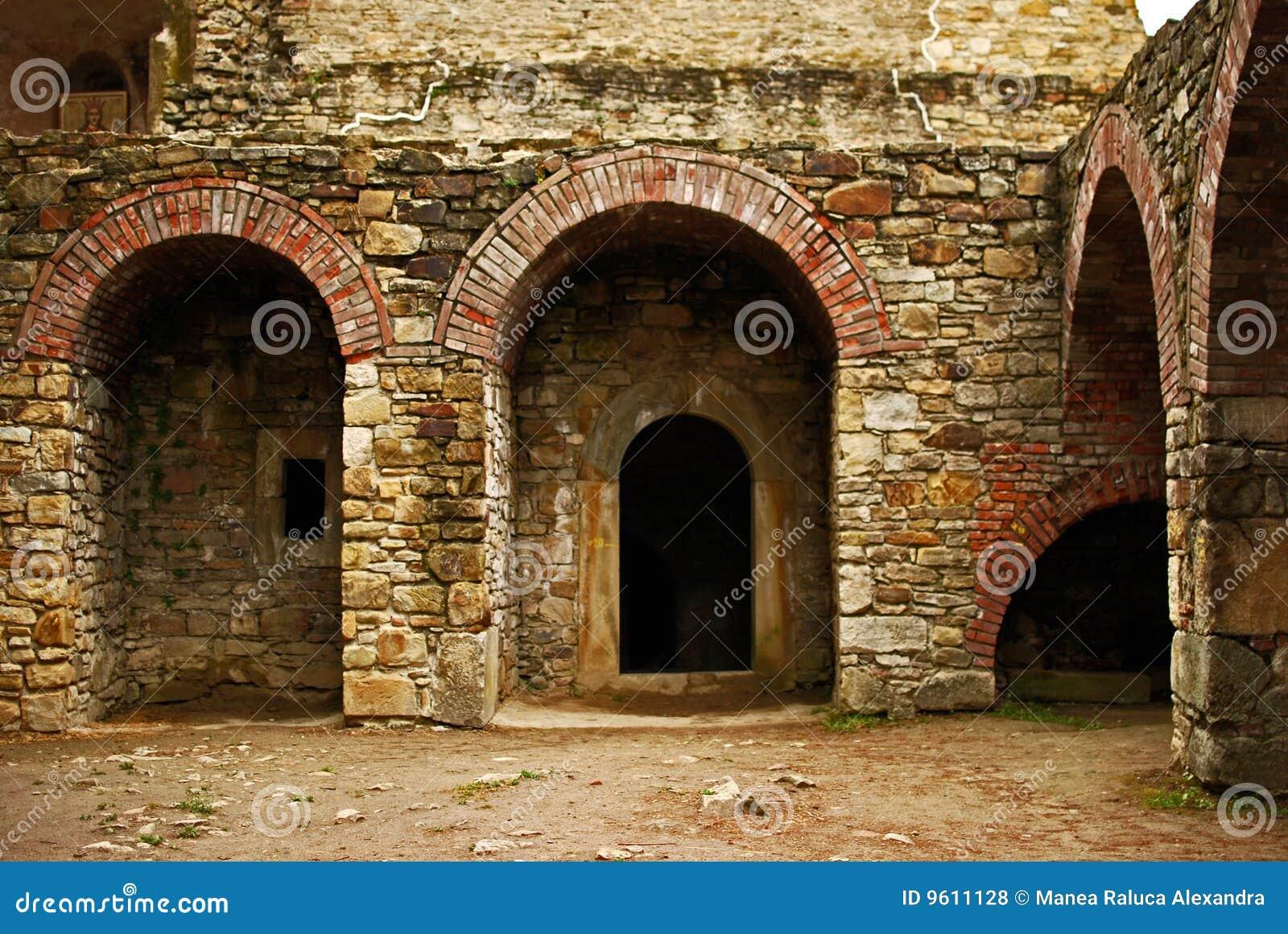 Suceava s fortress ruins