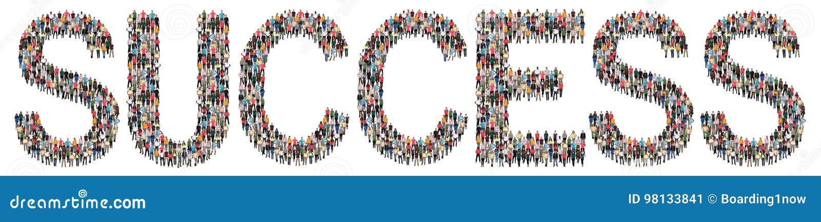 Sucesso bem sucedido na estratégia da liderança da carreira do trabalho do trabalho multi