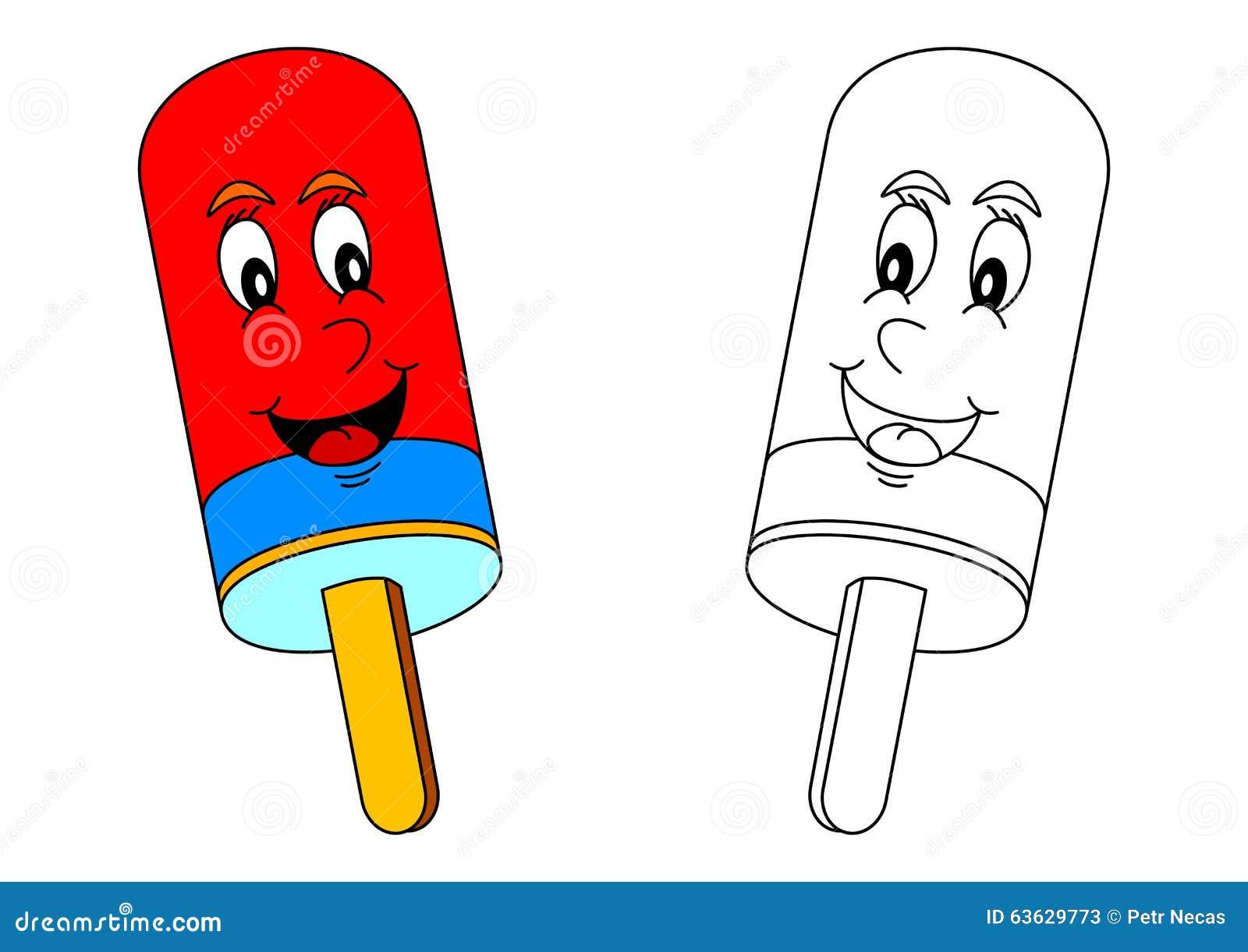 sucette colore de sourire comme coloration pour de petits enfants - Sucette Colore