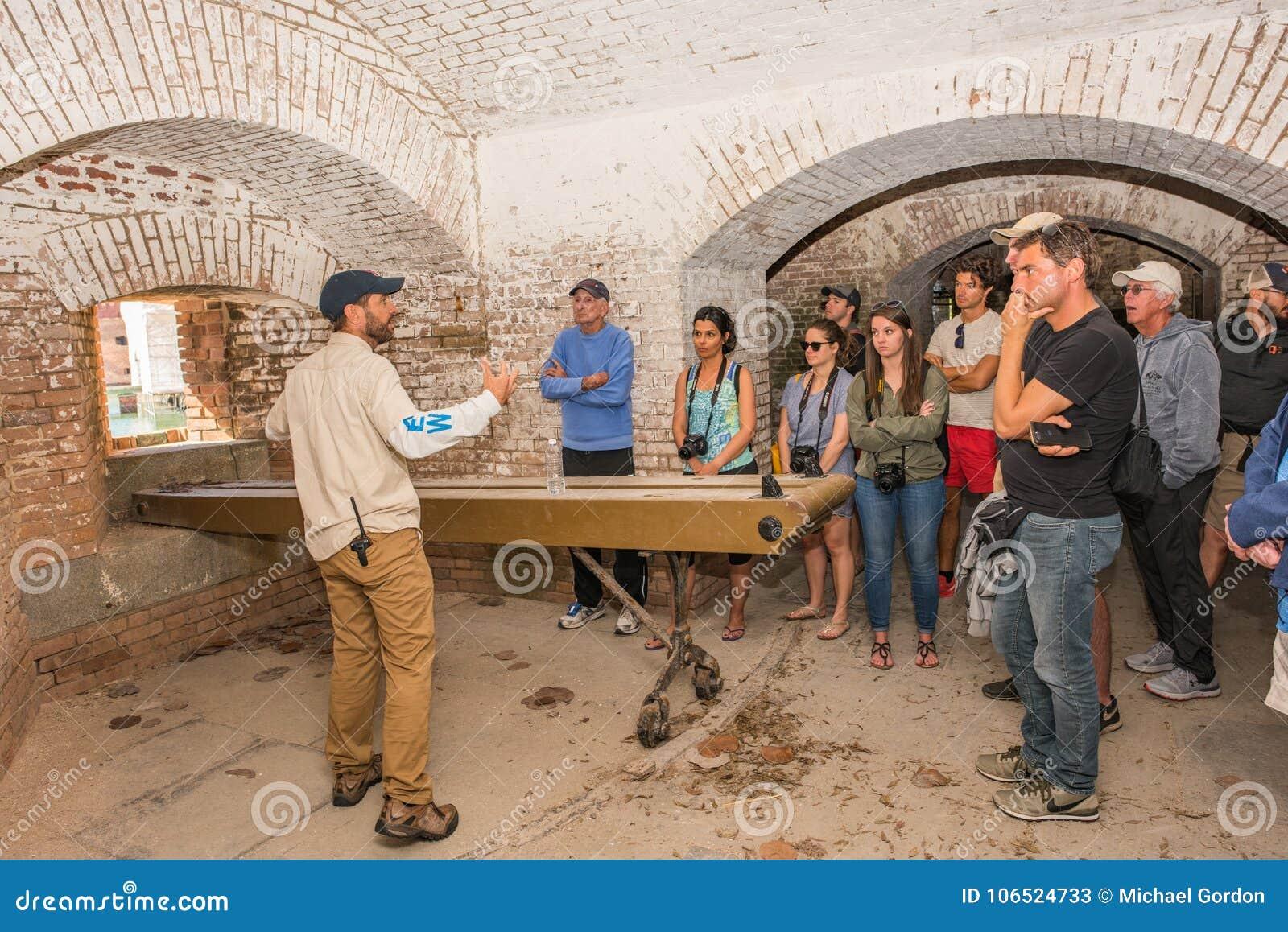 Sucha Tortugas parka narodowego wycieczka turysyczna w forcie Jefferson