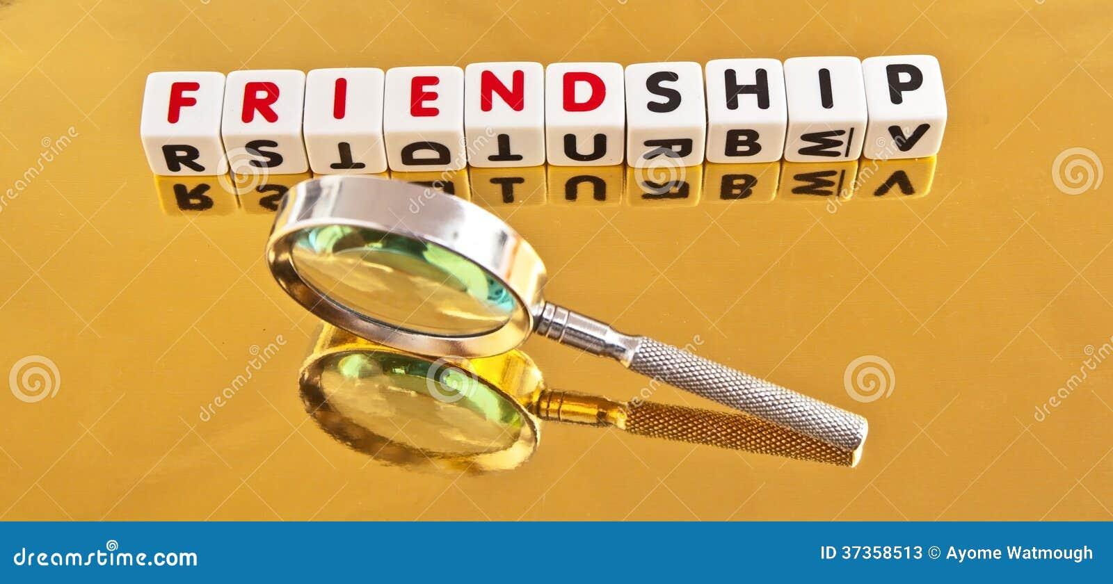 Suche nach Freundschaft