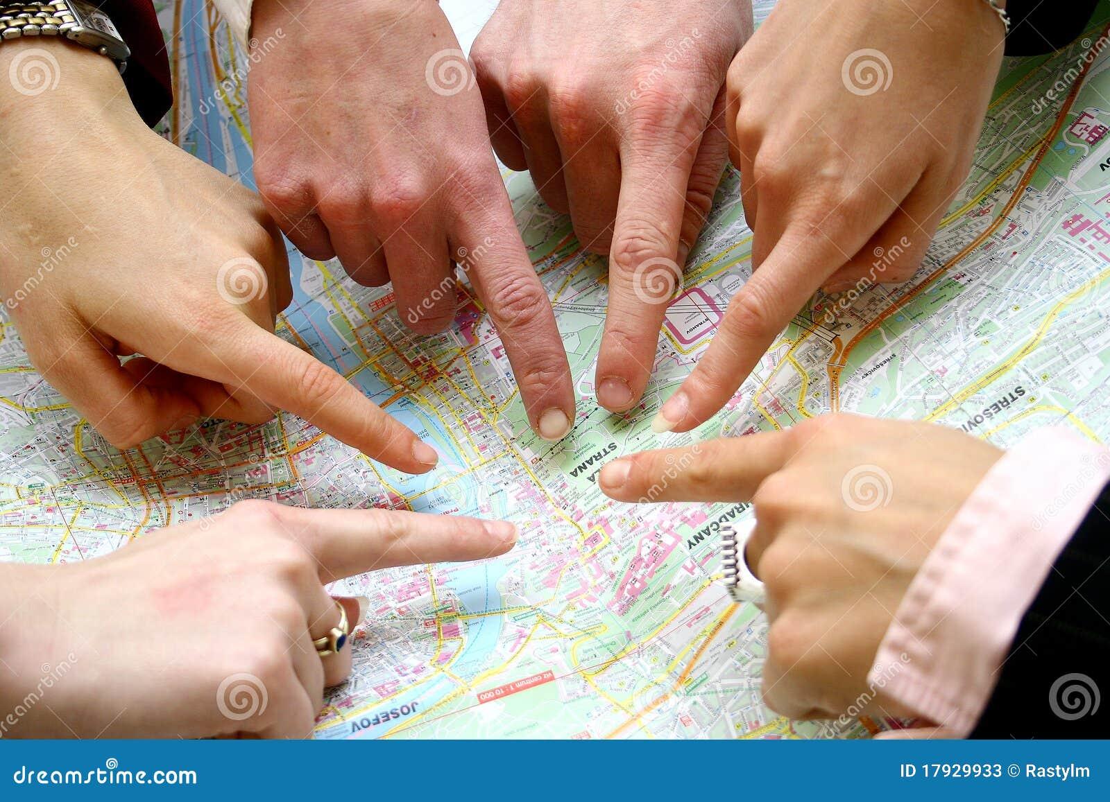 Suchen auf der Karte