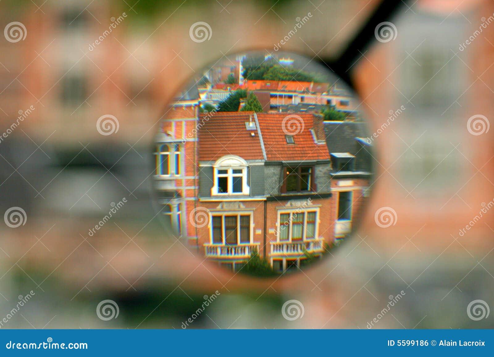 Suchen nach einem Haus