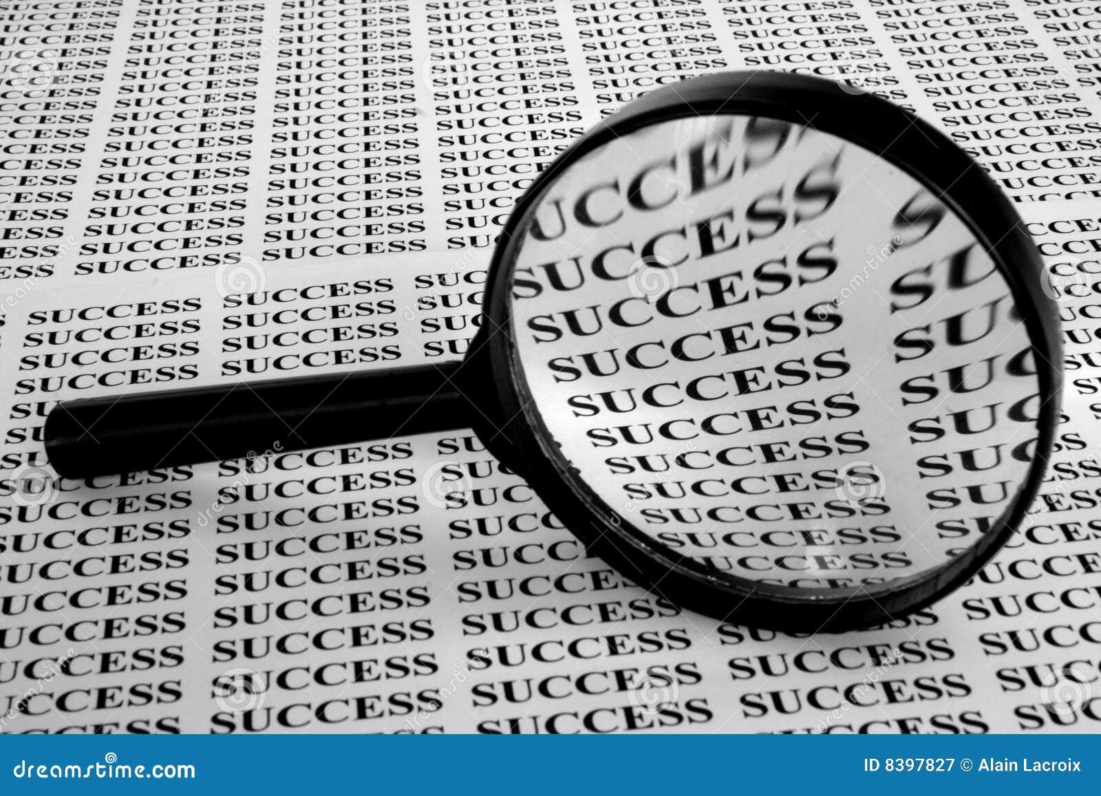 Suchen nach Erfolg