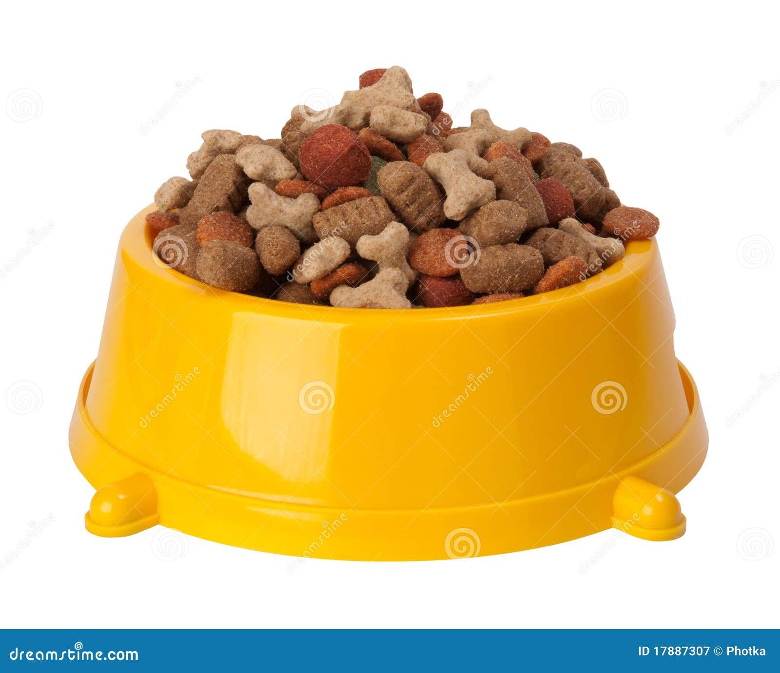 Suchy psa jedzenie s