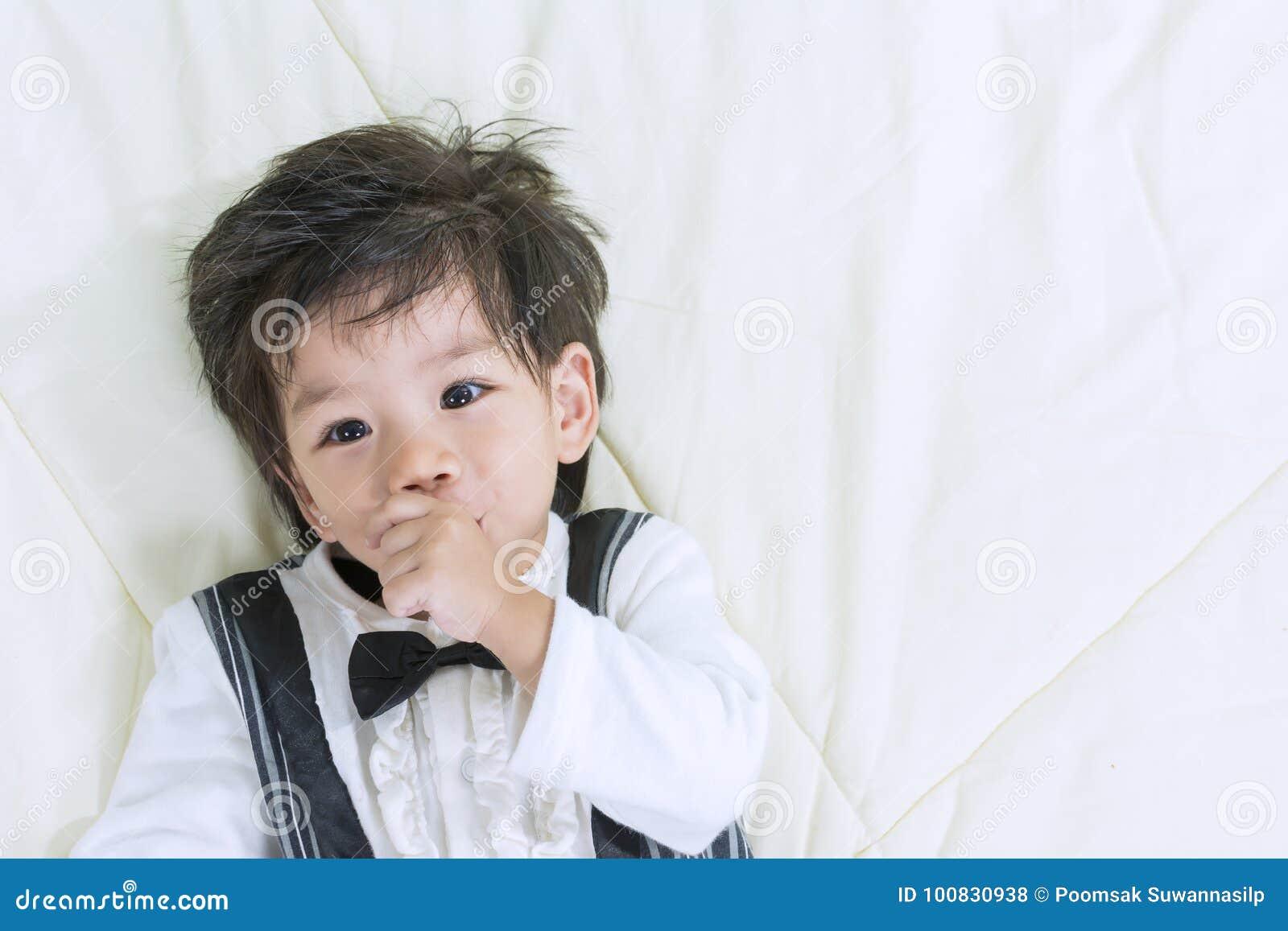 cute boy Young asian