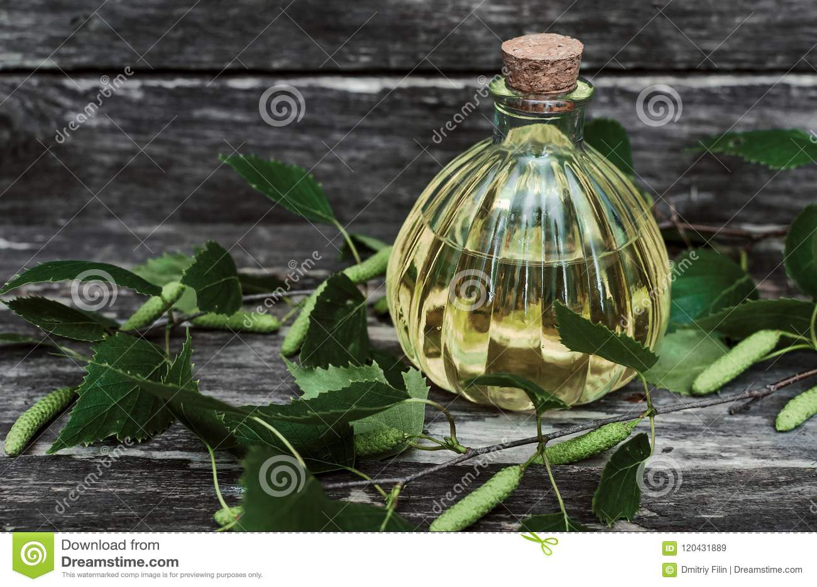 Suco da árvore de vidoeiro