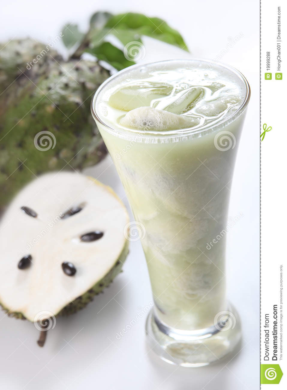 Suco de fruta do Soursop