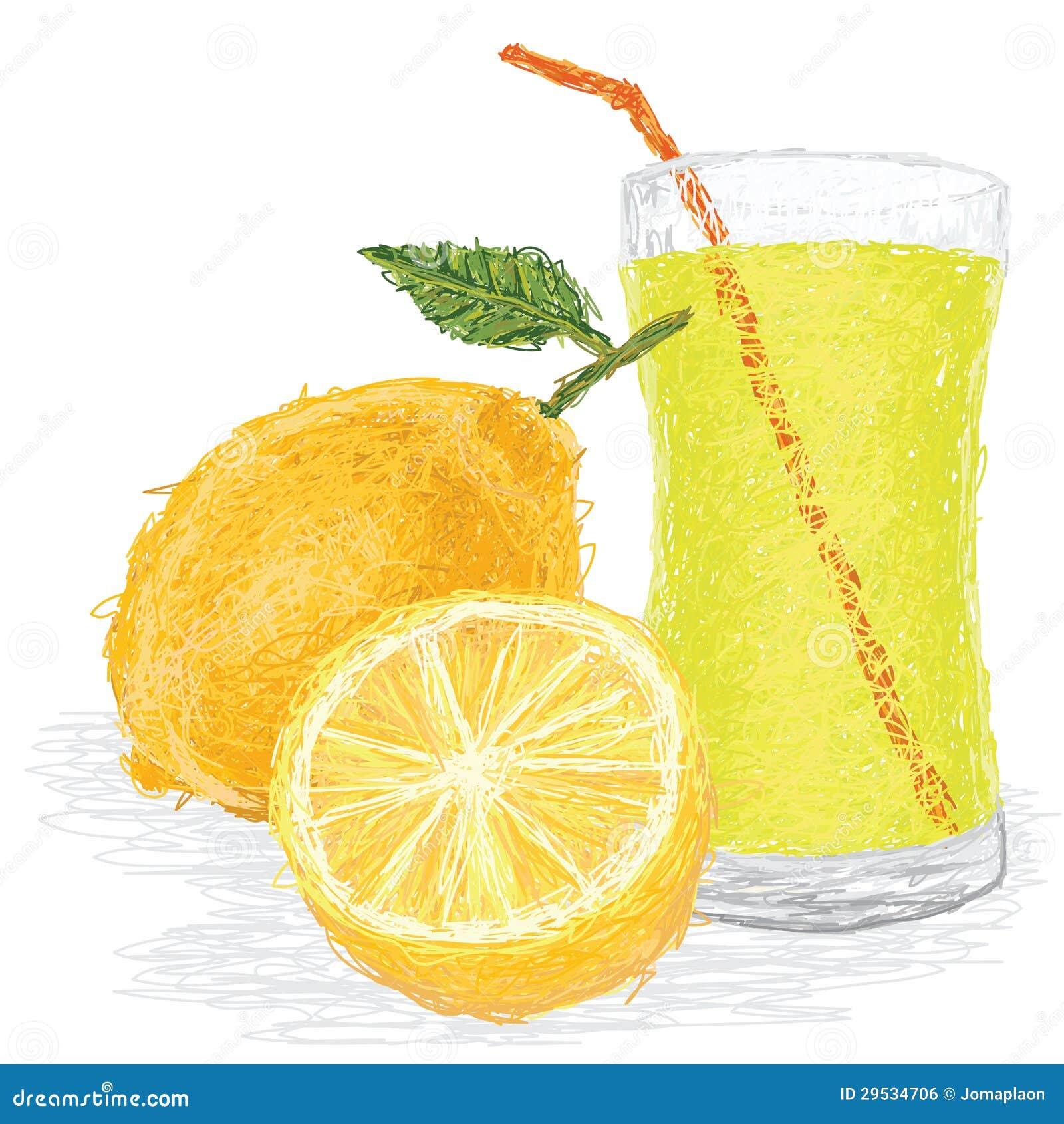 Suco de fruto do limão