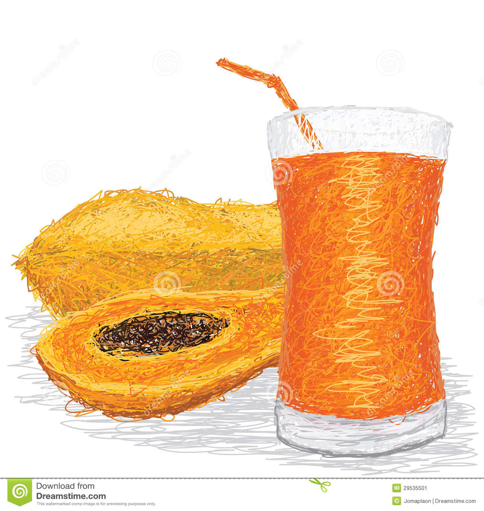 Suco de papaia