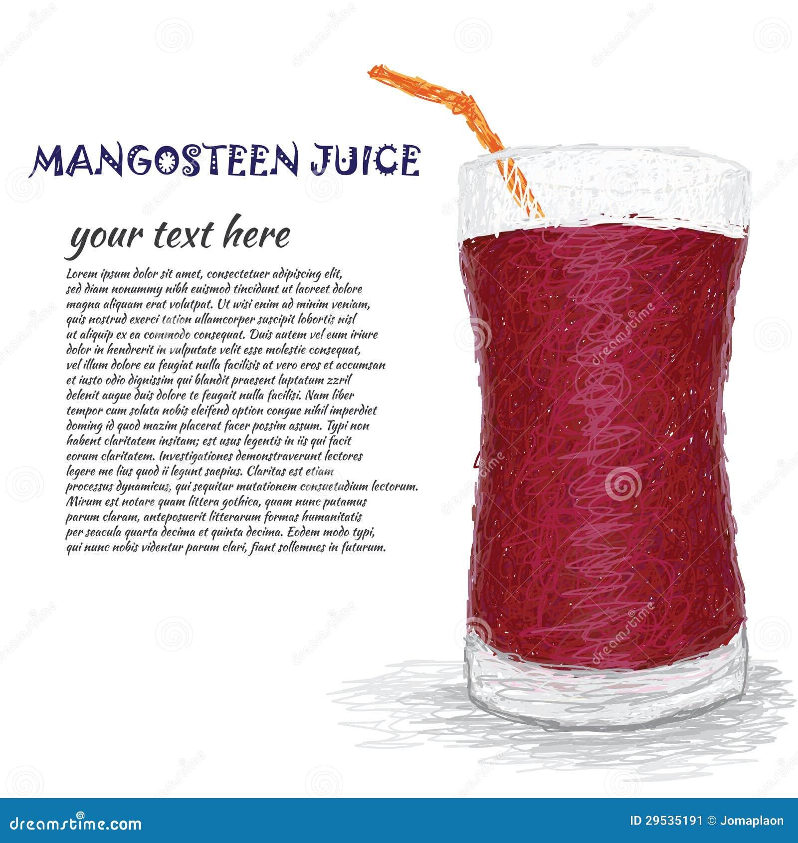 Suco do mangustão