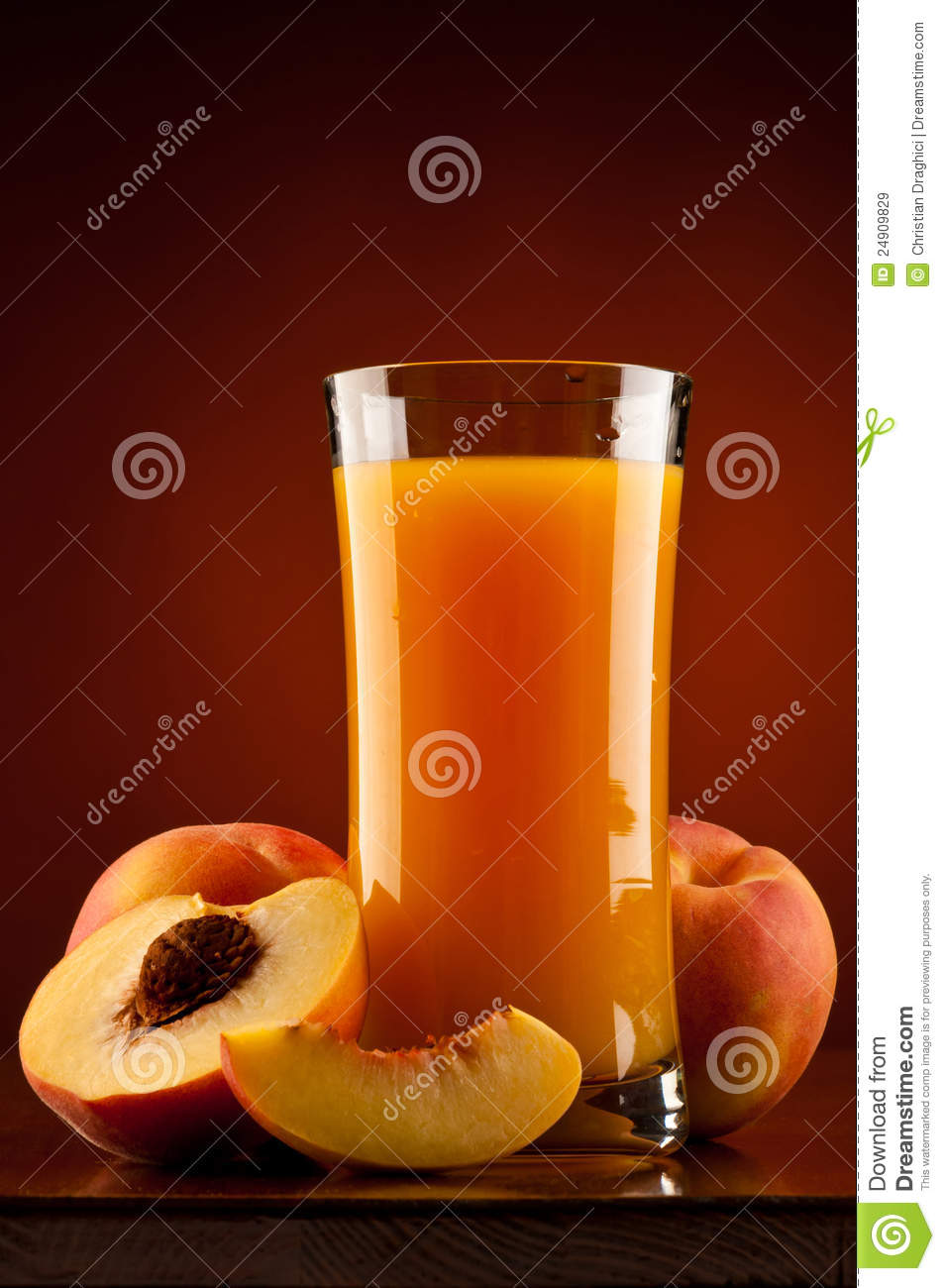 Suco do pêssego