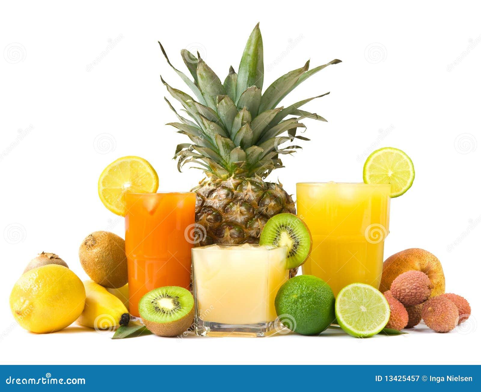 Sucos tropicais