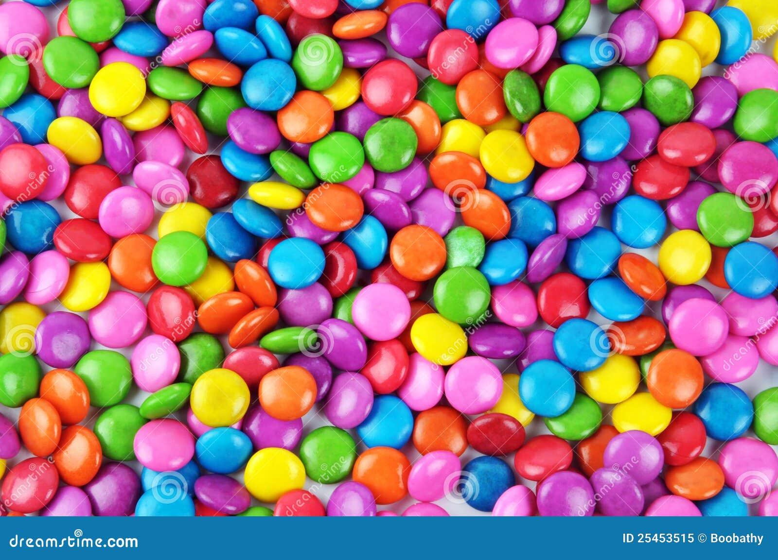 Sucrerie colorée