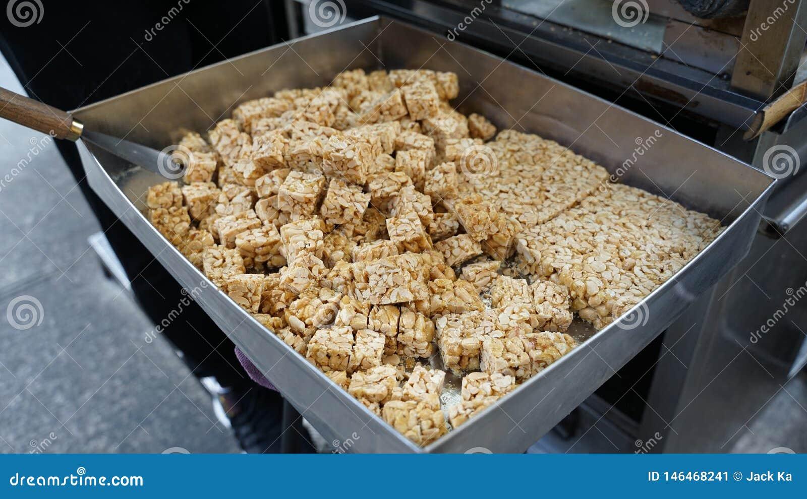 Sucrerie d arachides de nourriture de Macao