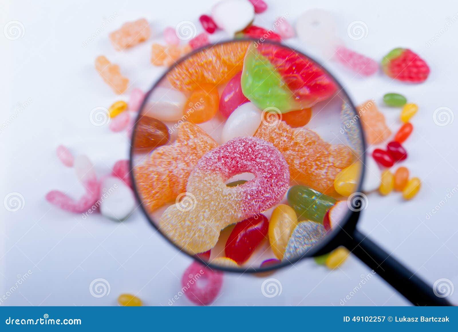 Sucrerie et gelée