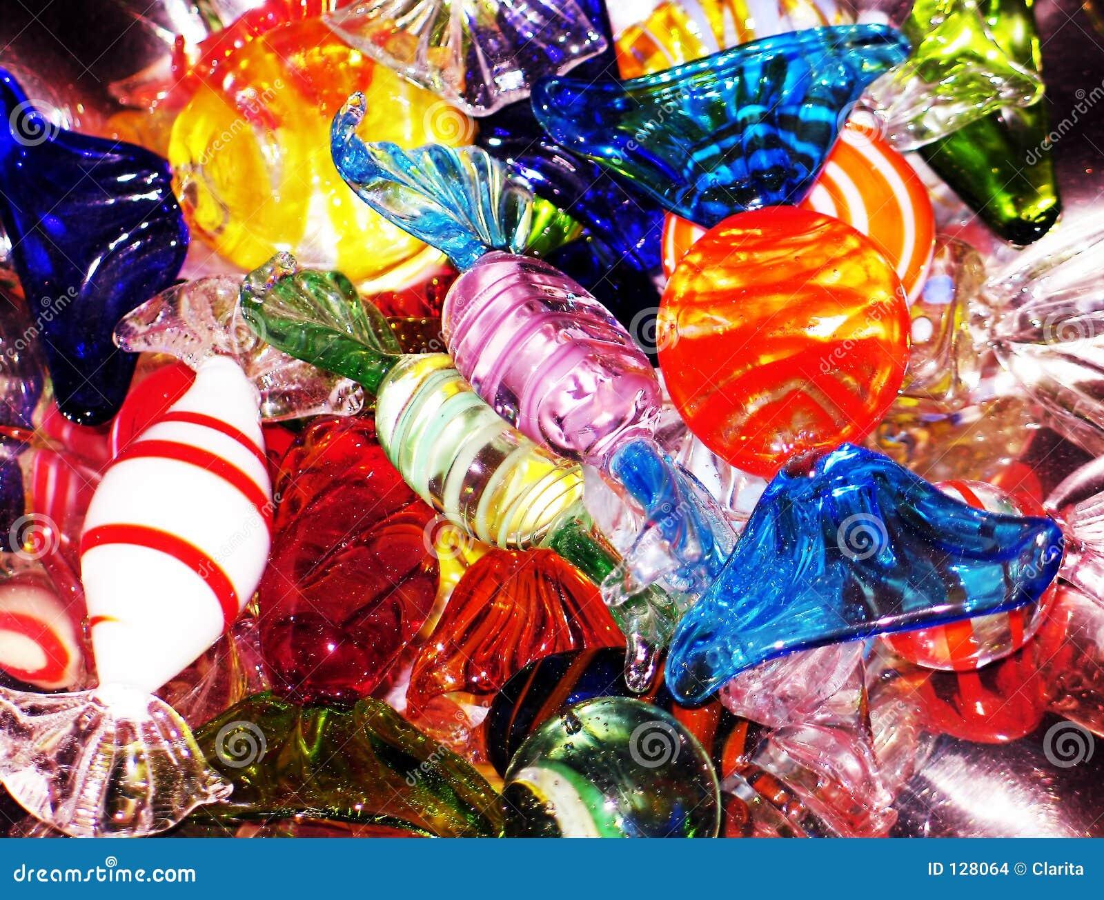Sucreries en cristal