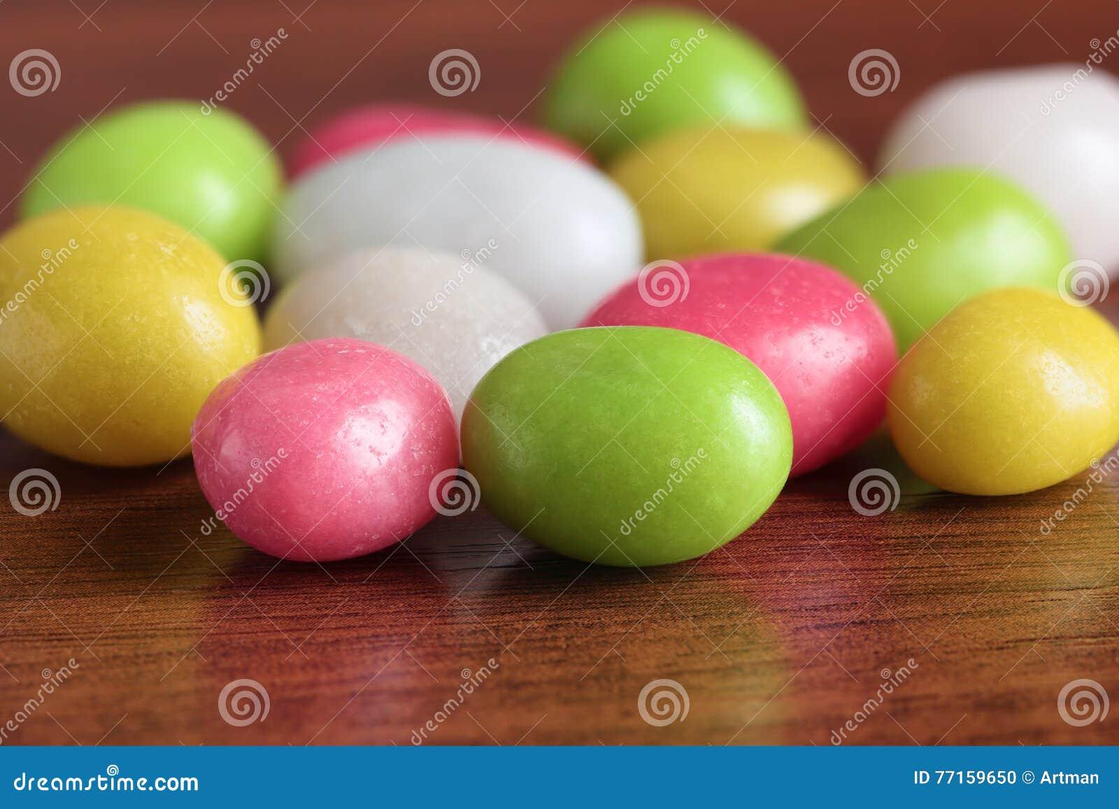 Sucreries multicolores
