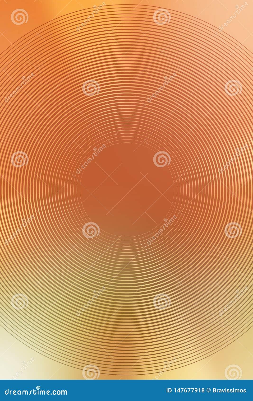 Suddighet f?r guld- textur f?r lutning radiell brigham