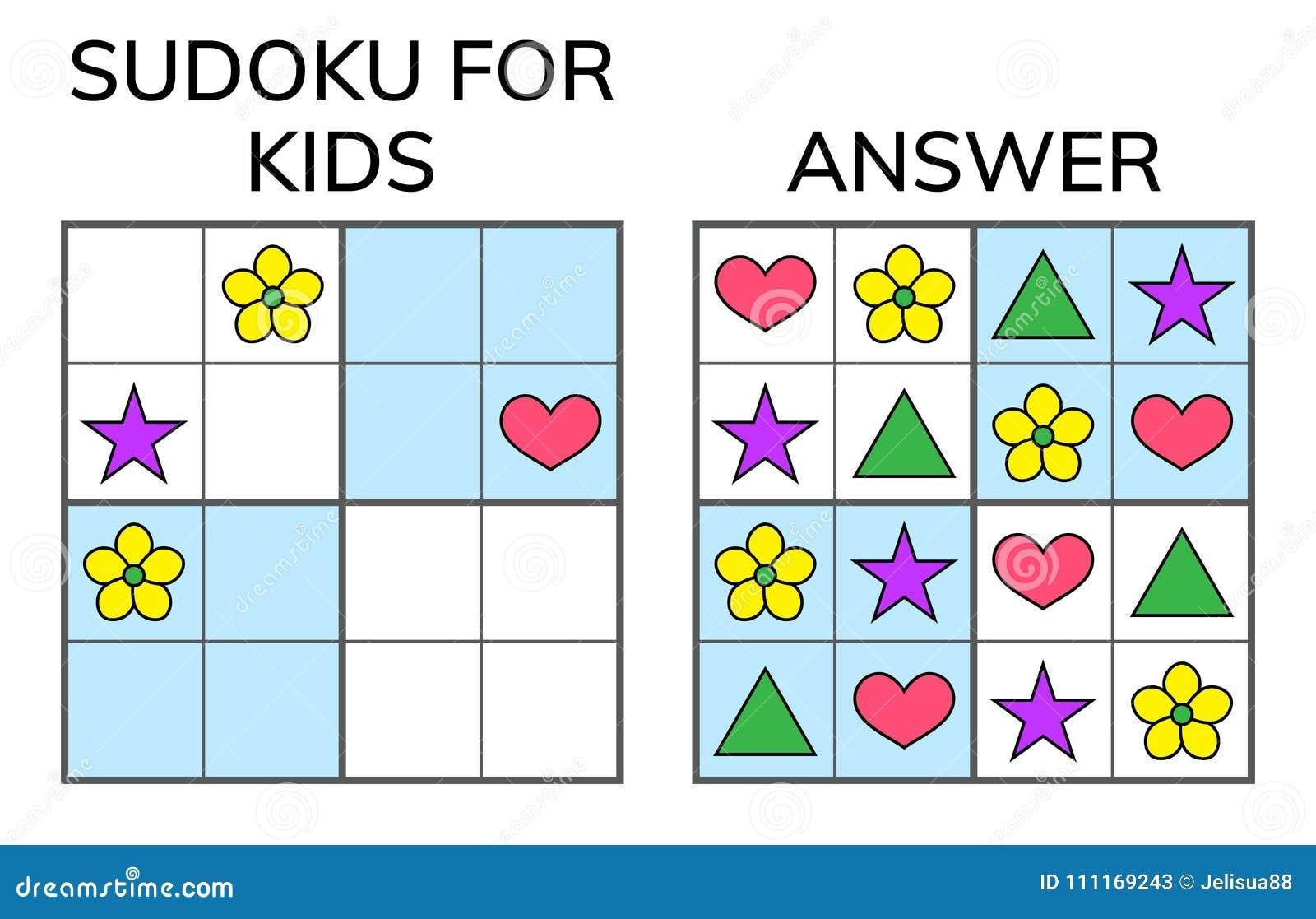 Sudoku Kids And Adult Mathematical Mosaic Magic Square Logic