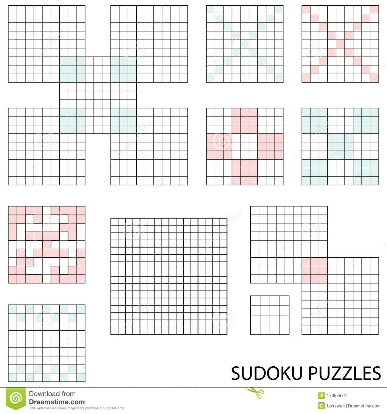 Worksheets Sudoku Blank Worksheets sodoku template okl mindsprout co sudoku templates stock photography image 17369872