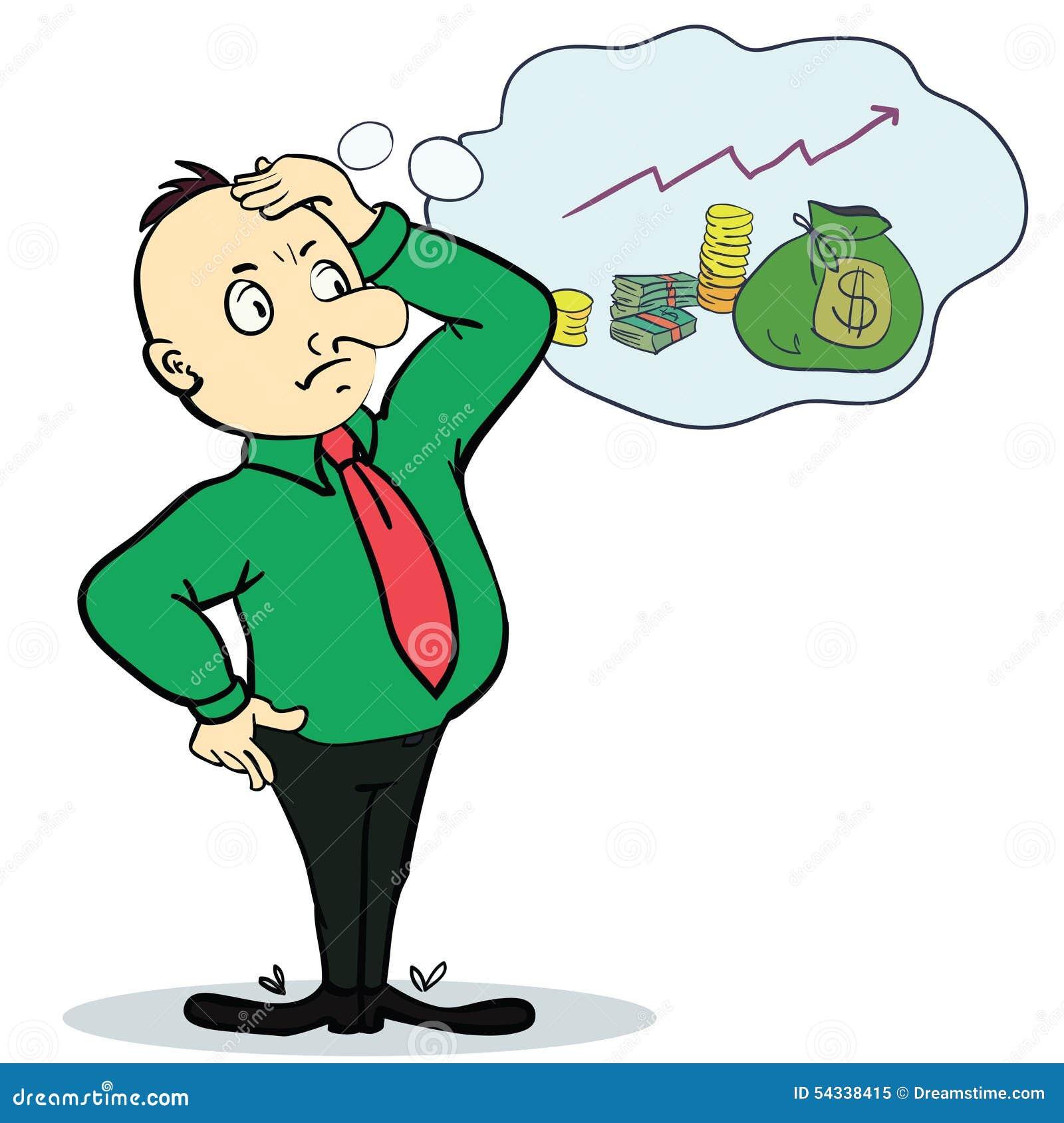 dibujos animados el dinero habla