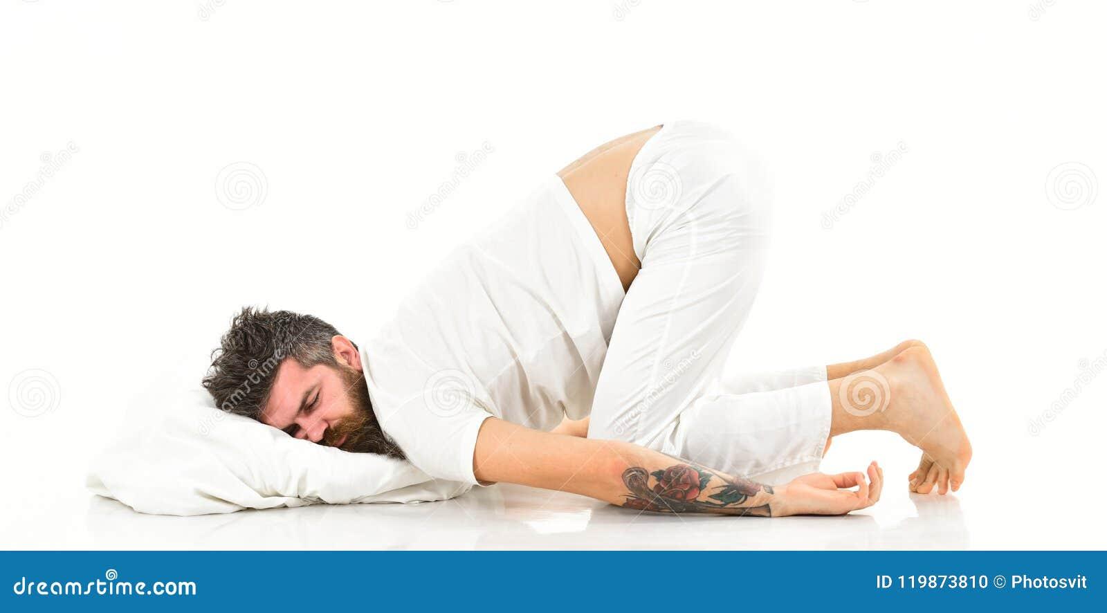 Sueños como concepto del bebé Hombre con la barba y el bigote