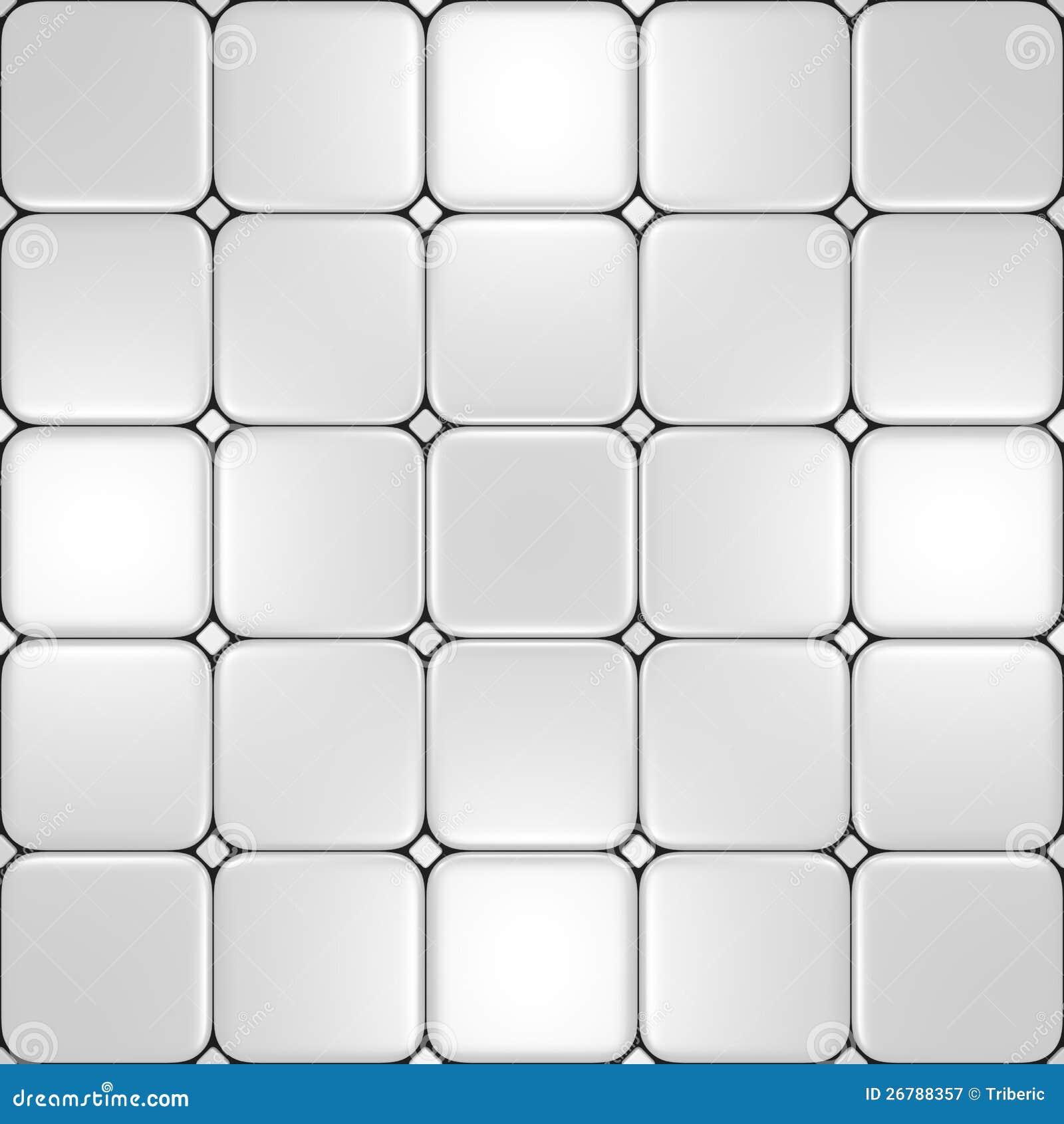 Suelo con diversos azulejos blancos fotograf a de archivo for Suelo 3d blanco