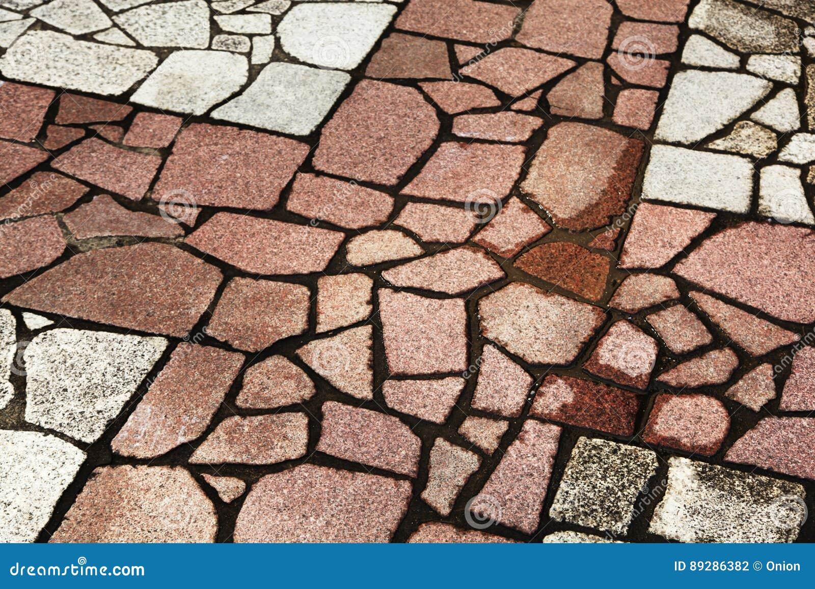 Suelo de piedra de forma irregular foto de archivo - Suelo de piedra ...