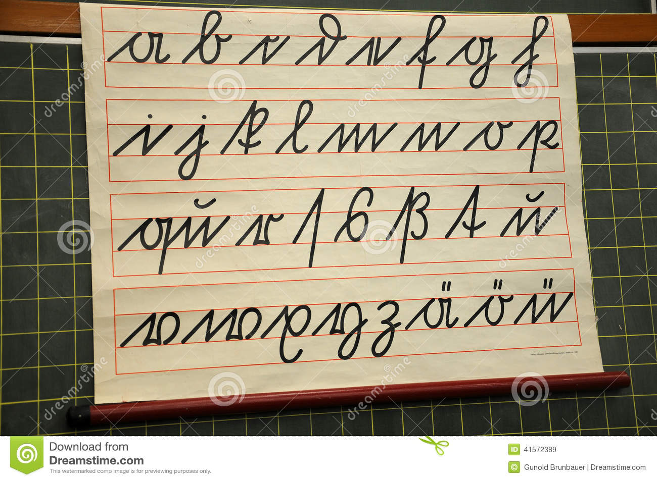 Stock Photo Suetterlin Alphabet German Handwriting Script Th Early Th Century Small Letters Image41572389 on Latest Antique Writing Desk