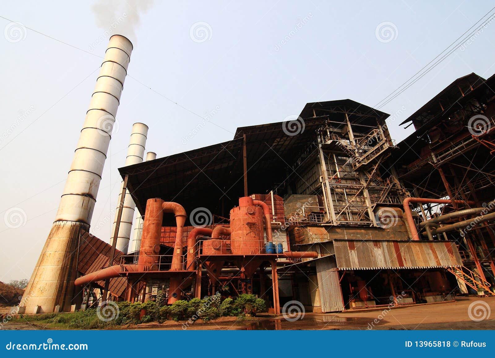 Sugar Cane Factory Royalty Free Stock Photos - Image: 13965818