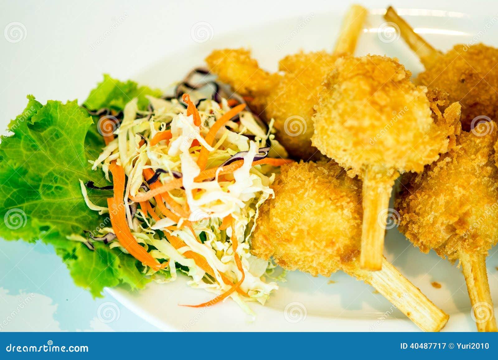 vietnamese sugar cane shrimp chao tom recipes dishmaps chao tom shrimp ...