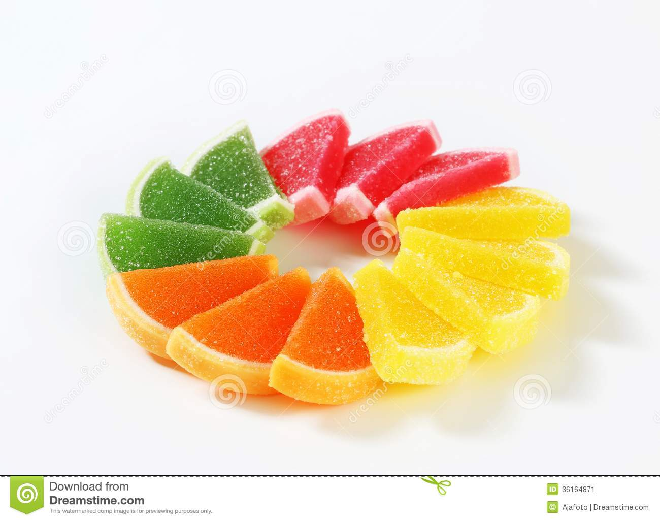 Sugar coated jelly candy stock image image 36164871