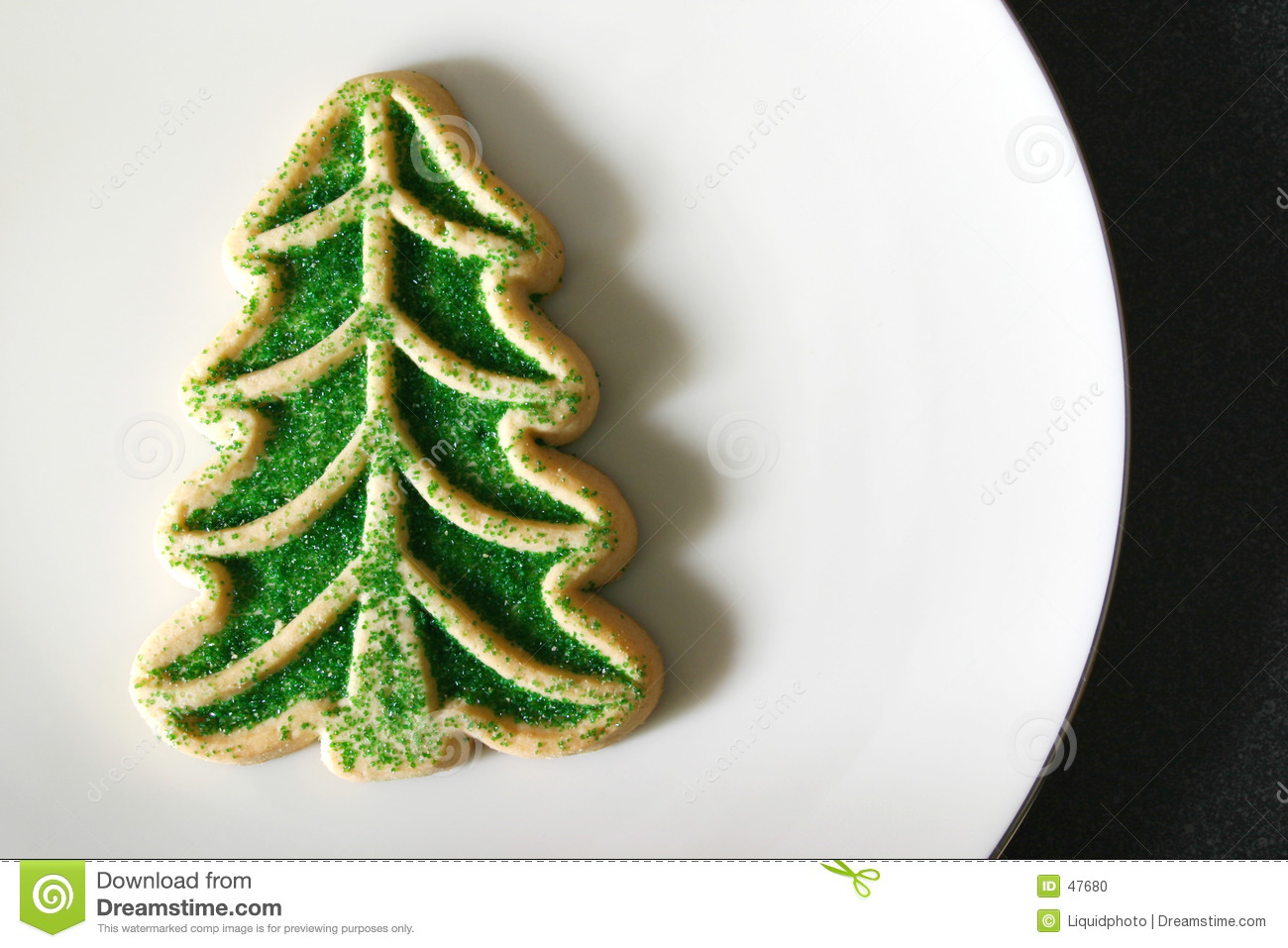 Sugar Cookie Christmas Tree Stock Photo Image 47680