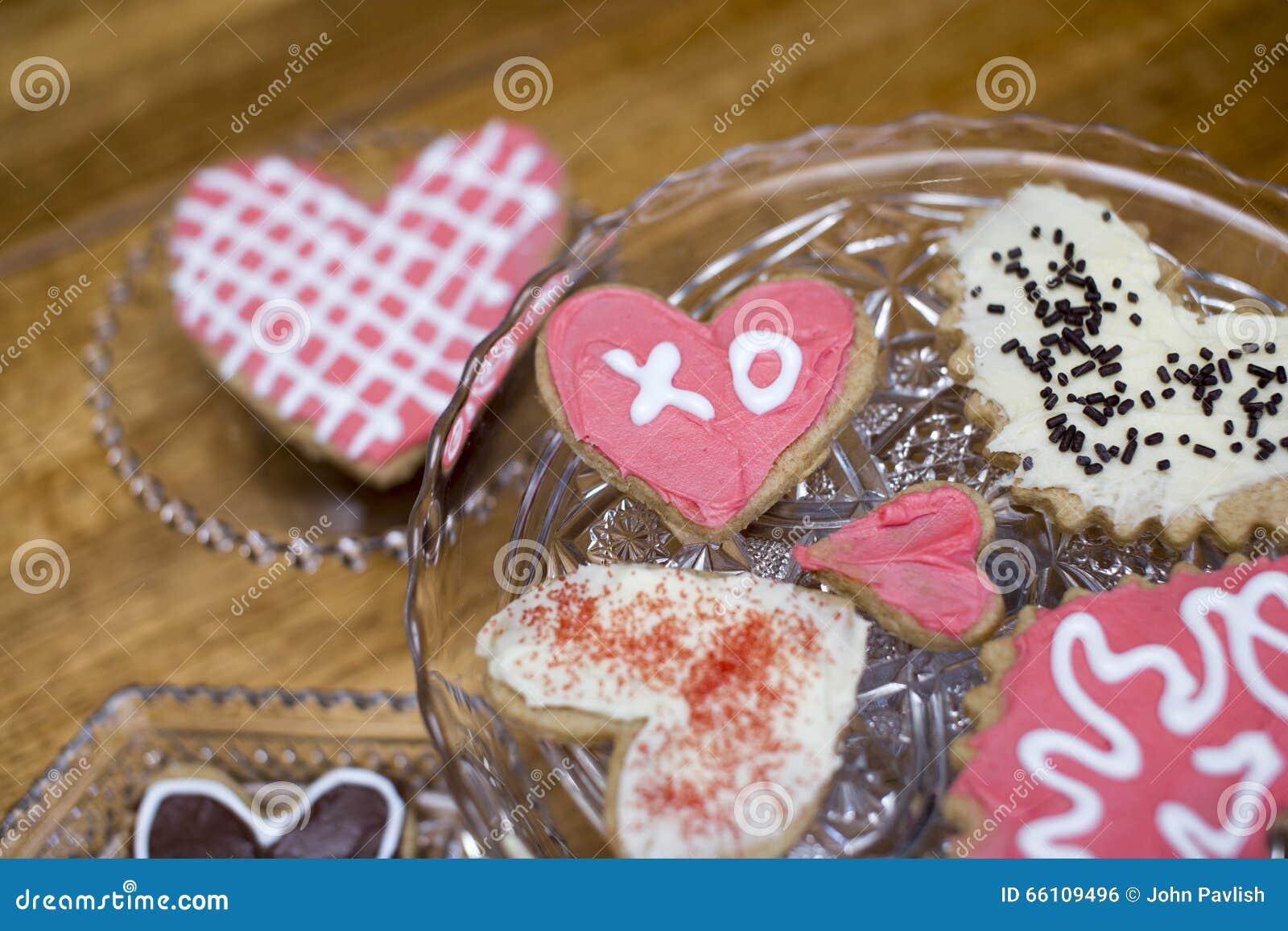 Sugar Cookies do Valentim com XO