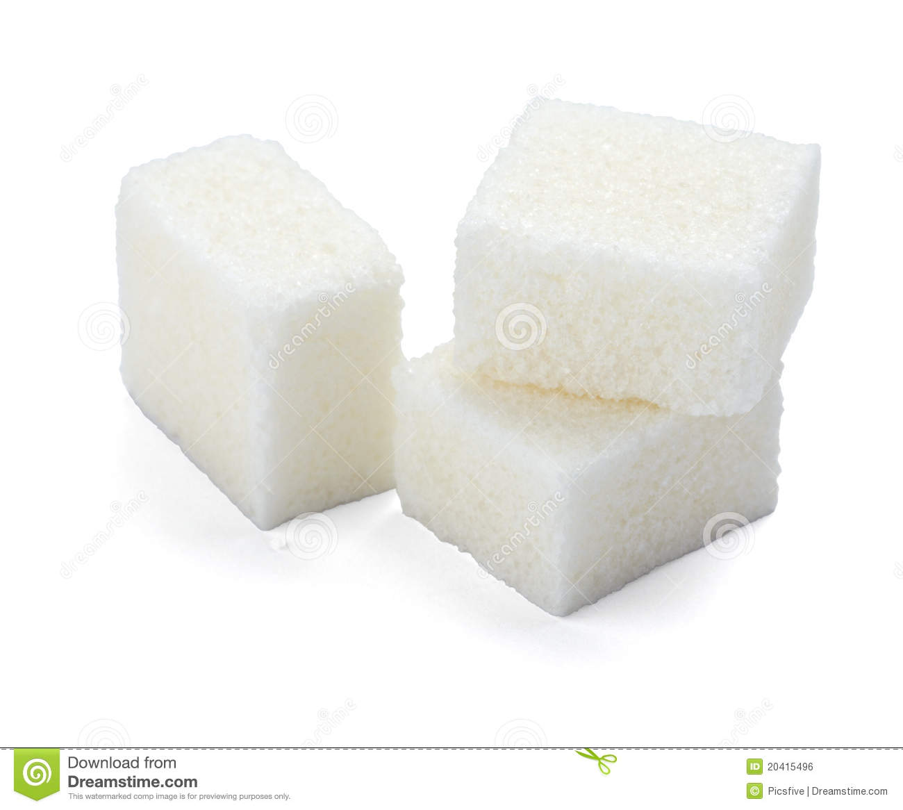 Sugar Cubes Royalty Free Stock Image - Image: 20415496