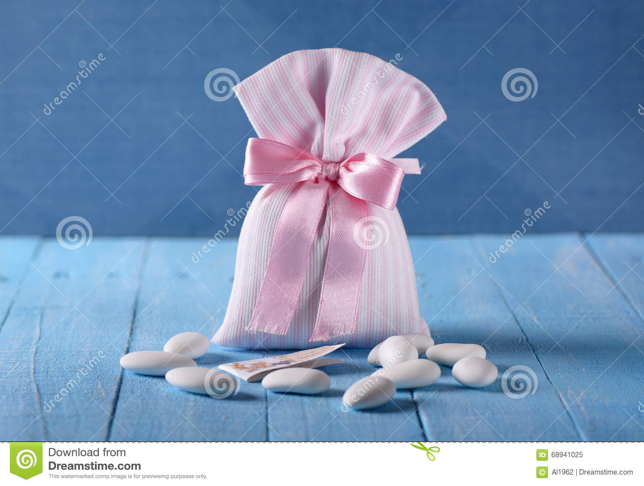Sugared almonds for baptism