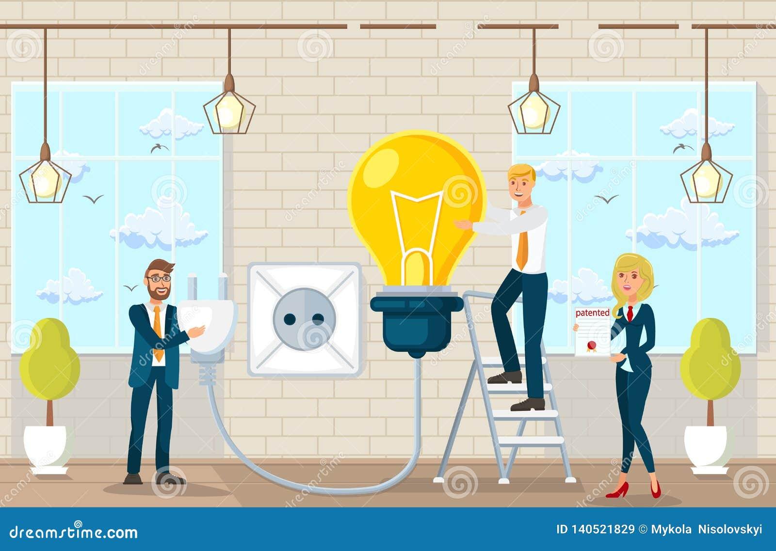 Sugestões e ideias de fatura lisas no escritório de advogados