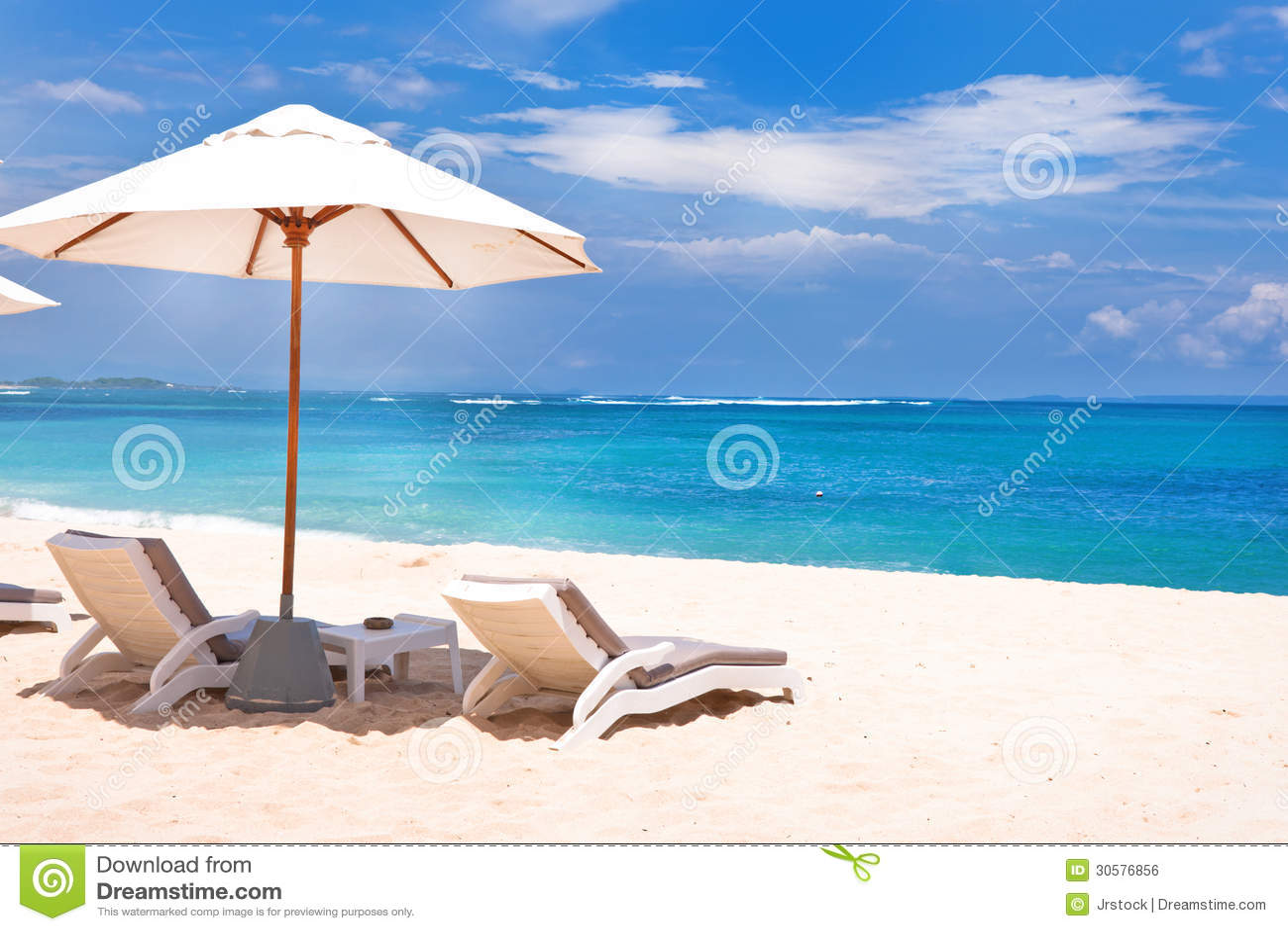 Suggestive Beach Scene Stock Photo Image Of Summer Umbrella 30576856