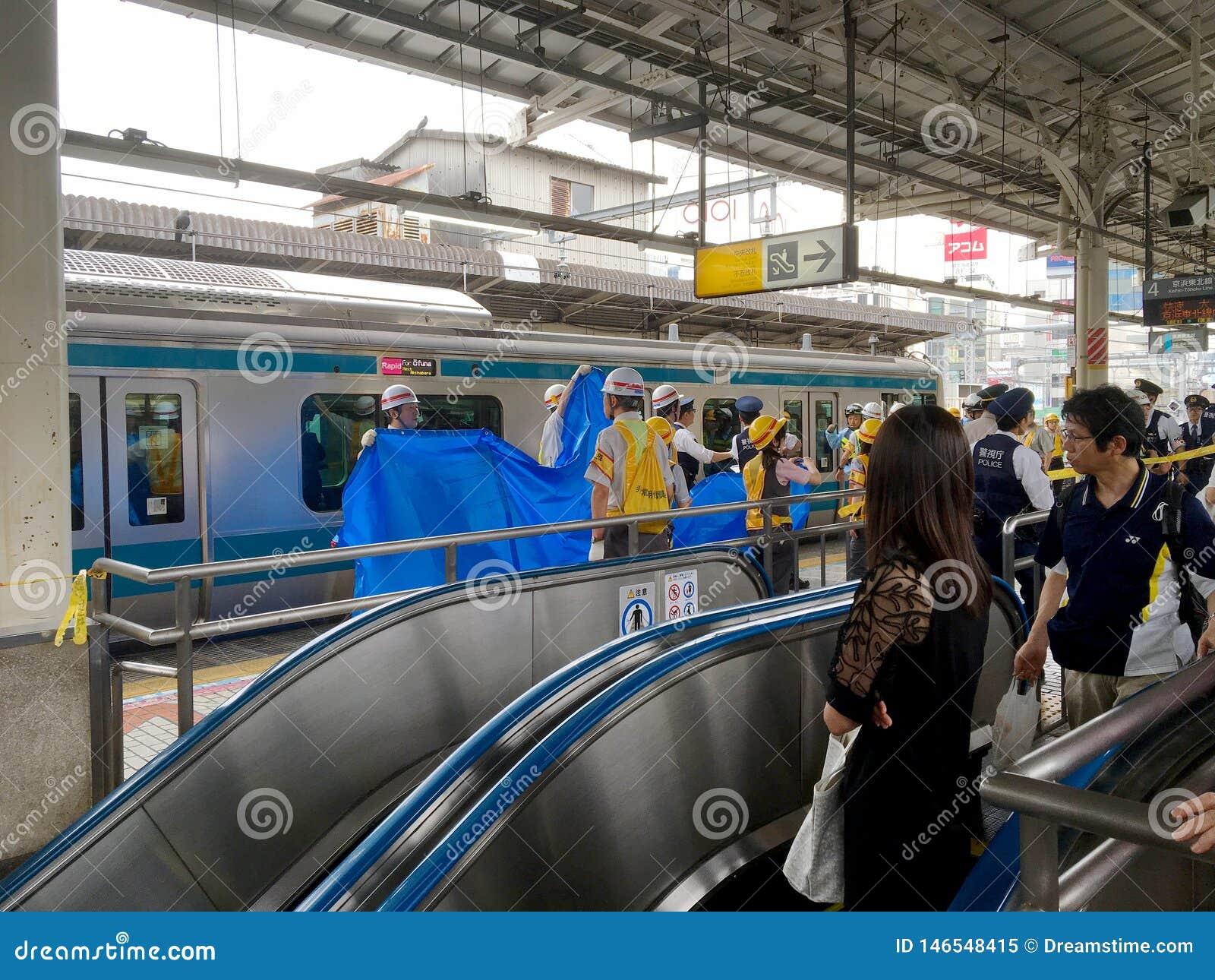 Suicídio no trem