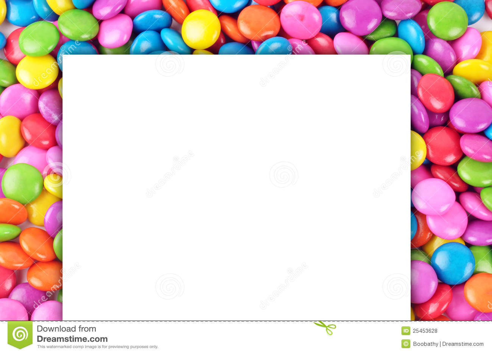 Suikergoed met document