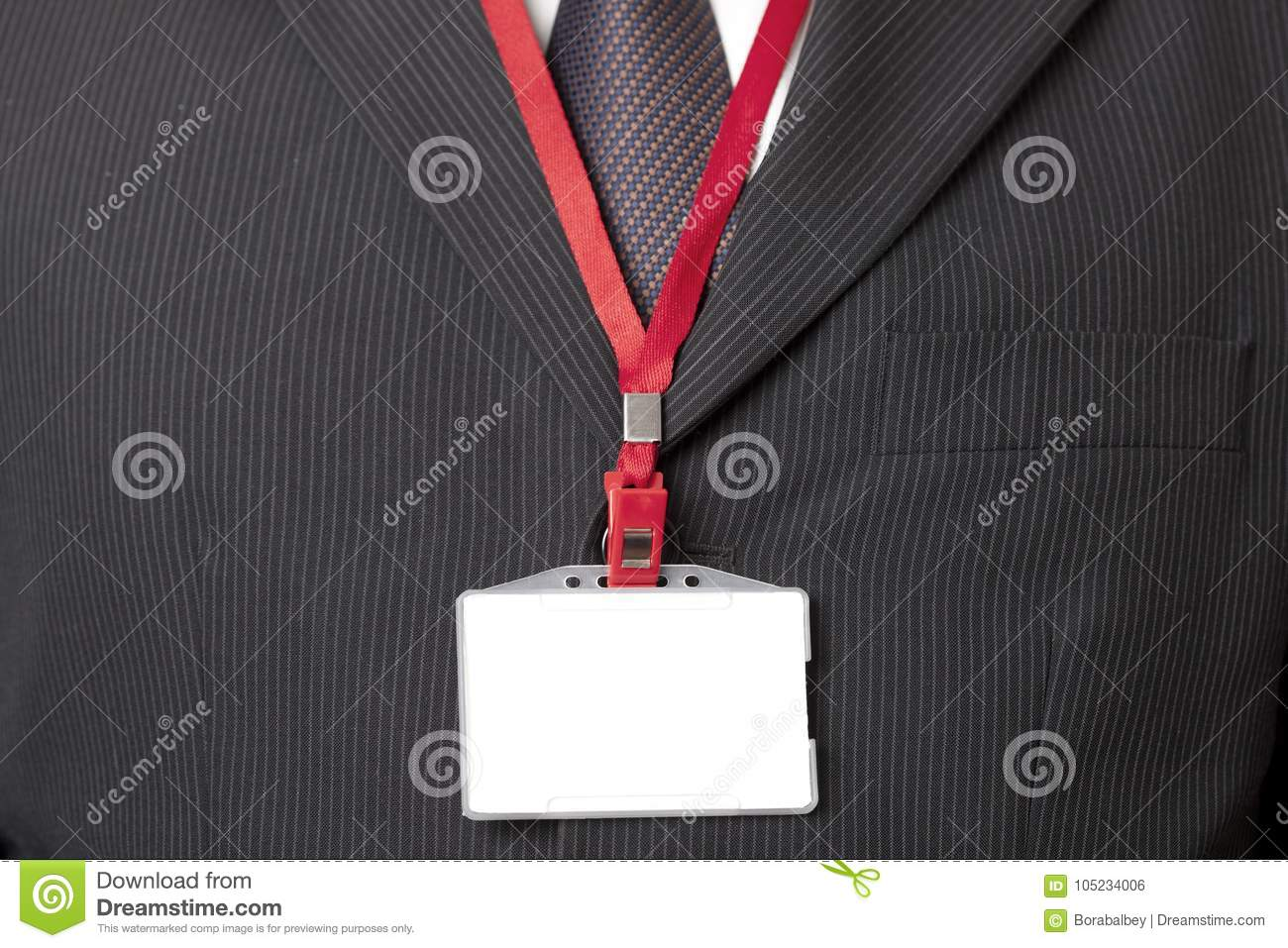 Suit and ID Card
